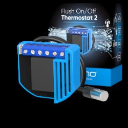 QUBINO - Módulo de termostato, caliente y frío empotrado Z-Wave Más ZMNHKD1