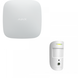 Ajax-Hub 2 - Zentrale alarm-professionellen dual-SIM-karte GPRS