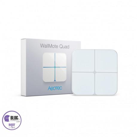 Aeon labs ZW130 - WallMote Interruptor inalámbrico Z-wave Más
