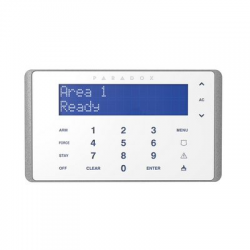 Paradox K656 - Clavier centrale alarme Touch Sense Keypad