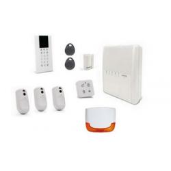 La agilidad 4 Risco - Risco Agilidad de alarma inalámbrica IP/GSM detectores, cámaras, sirenas al aire libre