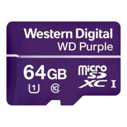 WD Purple - Carte mémoire flash 64 GO