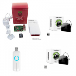 Jeedom pack automatisme - Pack Raspberry Pi 3 Z-Wave PLus Fibaro FGR-223