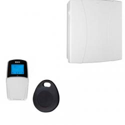 Risco allarme LightSYS - Centrale di allarme via cavo, collegato cavier lettore di badge