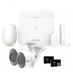 Hikvision AX Pro - Pack Alarme Pro WIFI IP 3G/4G caméras
