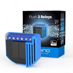 Qubino ZMNHBD1- Module commutateur 2 relais Z-Wave Plus