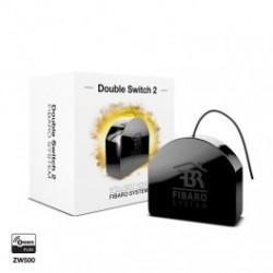 FGS-223 - Fibaro Micro module double switch z-wave more