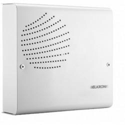 Sirena de alarma NFA2P interior Elkron HP375M con la batería