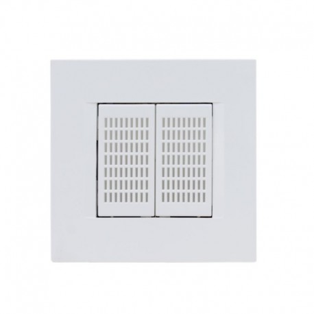QUBINO Cuadro de 2M integrado en el sensor de temperatura