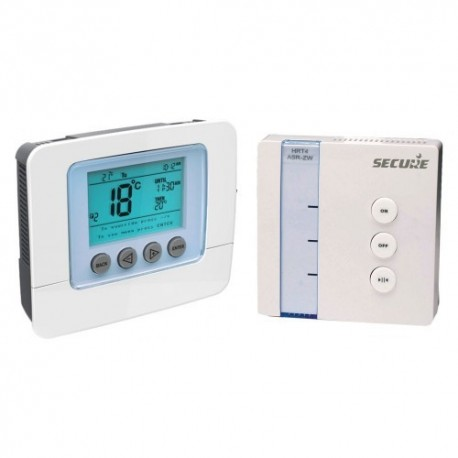 Pack electronic programmable thermostat receiver Z-Wave SECURE