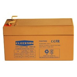 BATTERY 12V-1.3 Ah, L 97 X w 43 X HT 53
