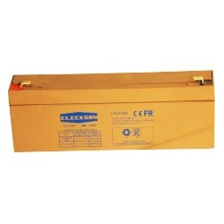 Eleckson - Batería 12V 2.2 AH L 178 X 34 X HT 60