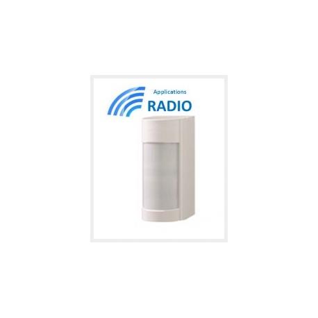 VXIR - al aire libre Detector de doble tecnología IRP 12M 90° BAJO CONSO IP55