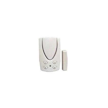 Alarme autonome détecteur d'ouverture de porte avec code CHACON 34021