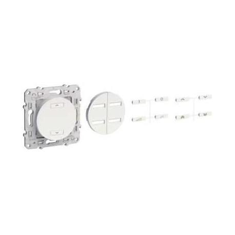 Receptor de Radio persianas, enrollables de aluminio ODACE-SCHNEIDER